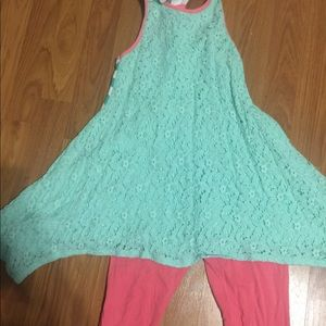 Mallory may Capri outfit size 8